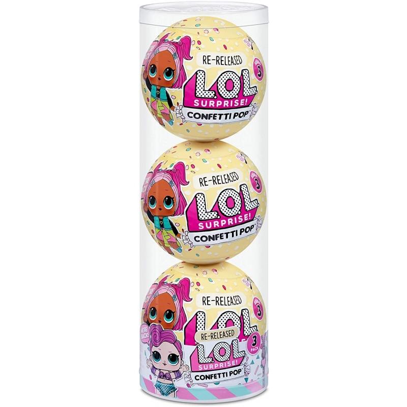 L.O.L. Surprise! 3- Pack Confetti