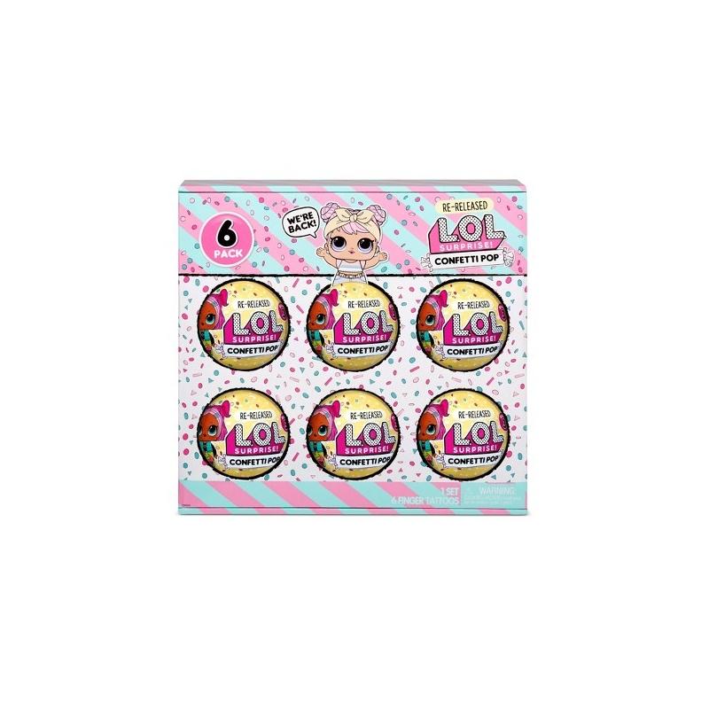 L.O.L. Surprise! 6-Pack Confetti- Dawn