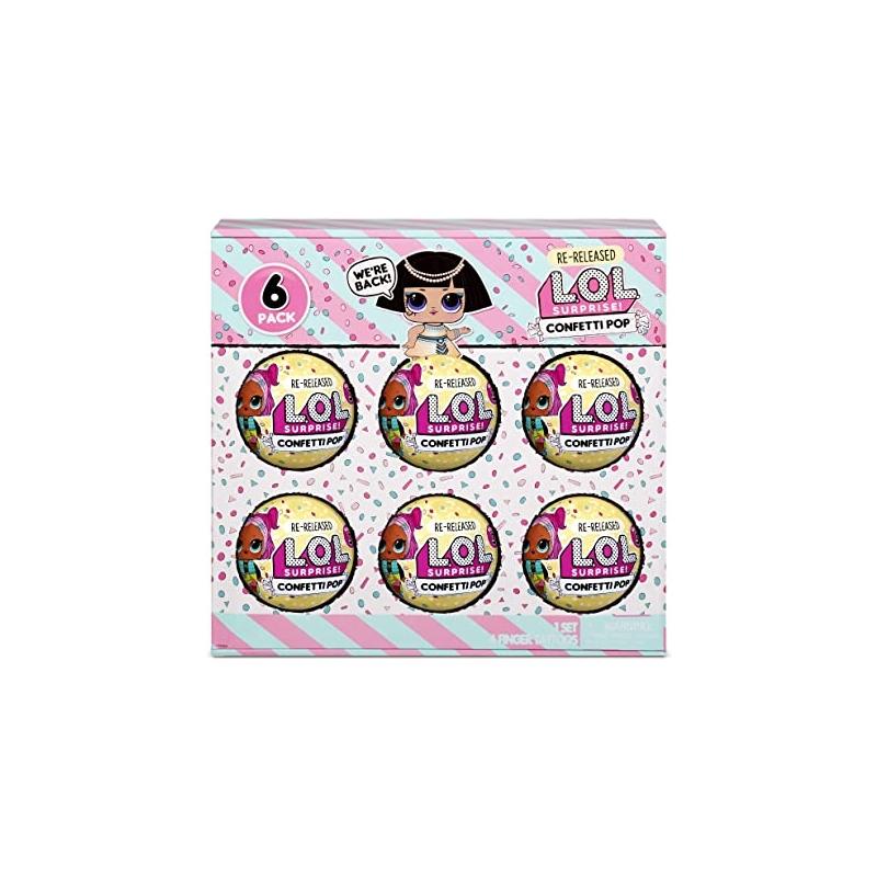 L.O.L. Surprise! 6-Pack Confetti- Pharaoh Babe