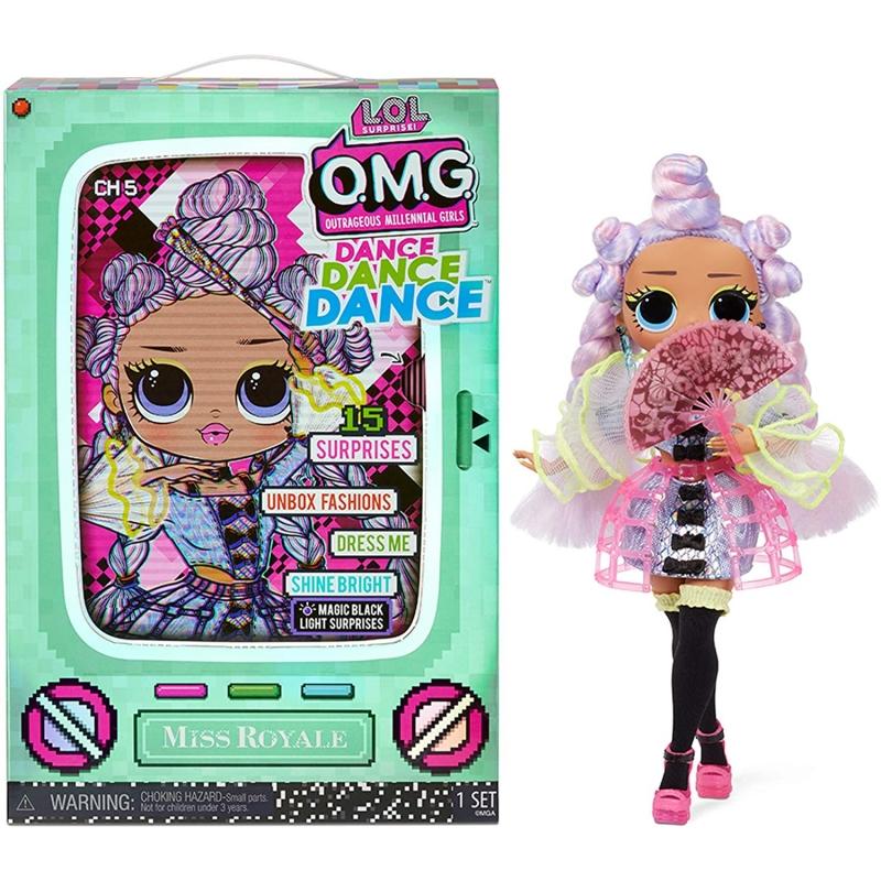 L.O.L. Surprise OMG Dance Dance Dance Miss Royale Fashion Doll