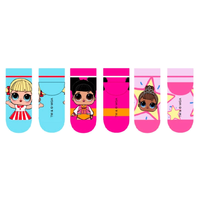 L.O.L. Surprise! 3 poros kojinių