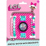 L.O.L. Surprise! Watch with bracelets
