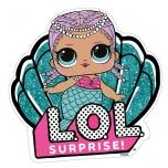L.O.L. Surprise! Simpukan muotoinen pyyhe