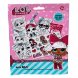 L.O.L. Surprise! Kit: Stickers,  colouring books,  pencils