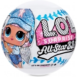 L.O.L. Surprise All-Star B.B.s Sports Series 1 Baseball Sparkly Dolls - Blue
