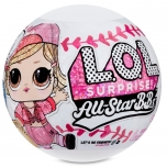L.O.L. Surprise All-Star B.B.s Sports Series 1 Baseball Sparkly Dolls - Pink