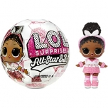 LOL Surprise! All-Star B.B.s Sports Series 3 Soccer Team - Pink