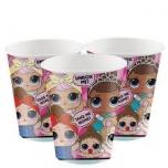 L.O.L. Surprise! Disposable cups 8 pcs.