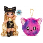 Na! Na! Na! Surprise 2-in-1 Fashion Doll and Plush Purse Series 3 – Sasha Scratch