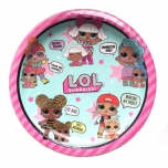 L.O.L. Surprise! Disposable plates 23cm