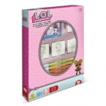 L.O.L. Surprise! Set of stamplets 3 pcs