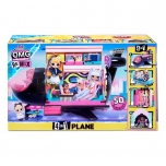 L.O.L. Surprise! O.M.G. Remix 4-in-1 Plane Playset Transforms