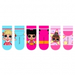 L.O.L. Surprise! Socks 3 pairs