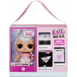 LOL Surprise Big B.B. (Big Baby) Kitty Queen – Large Doll