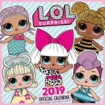 L.O.L Surprise Настенный календарь 2019