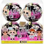 LOL Surprise! Remix Fan Club 4 Pack4 Re-released Dolls