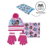 LOL Surprise! Hat, scarf, gloves and gift wrap