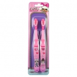 L.O.L. Surprise! Toothbrushes 2 PCs