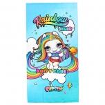 Poopsie Rainbow microfiber towel
