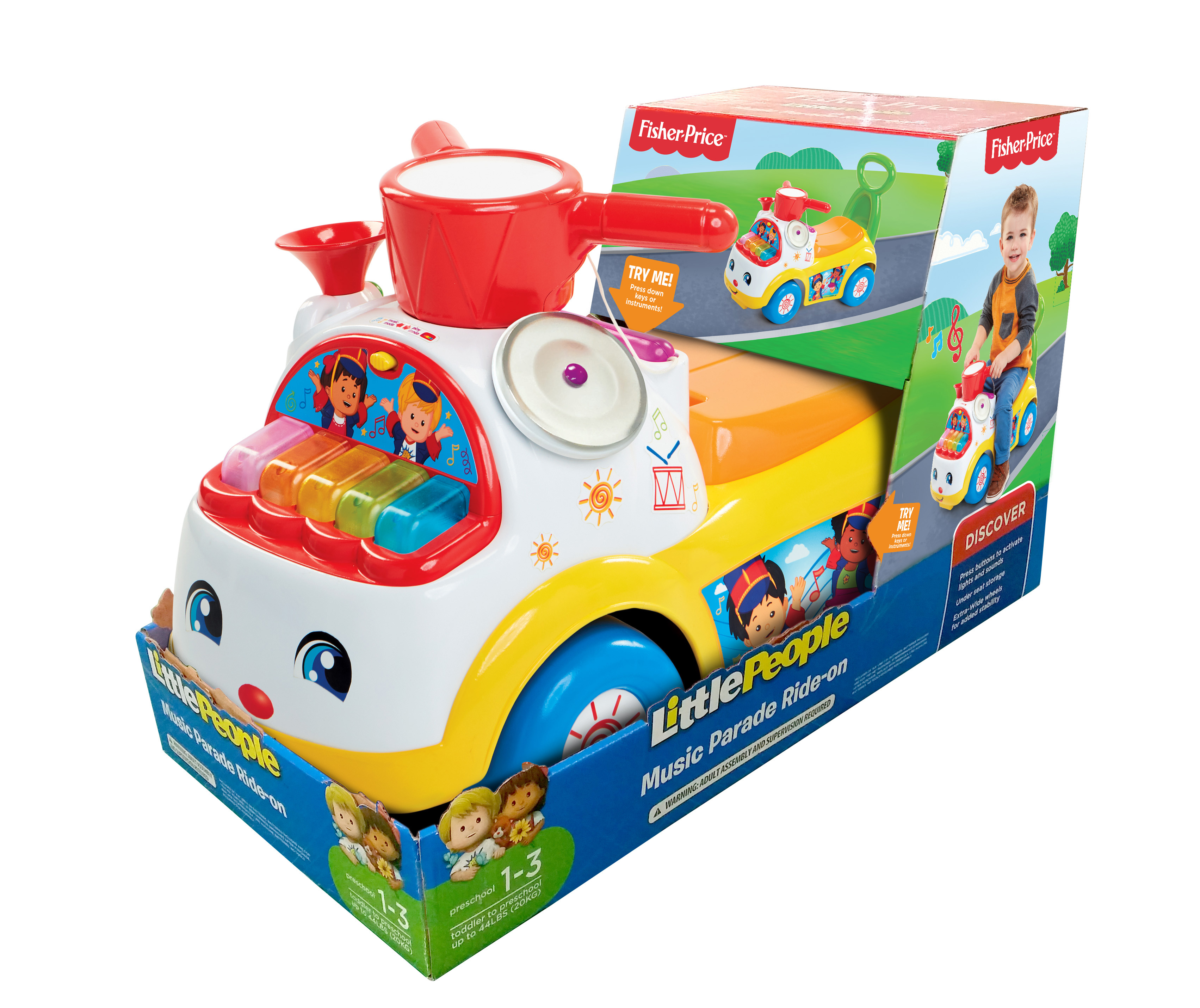 MOOSE MOUNTAIN Fisher-price Ultimate music parade