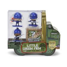 MGA Awesome Little Green Man Starta komplekts