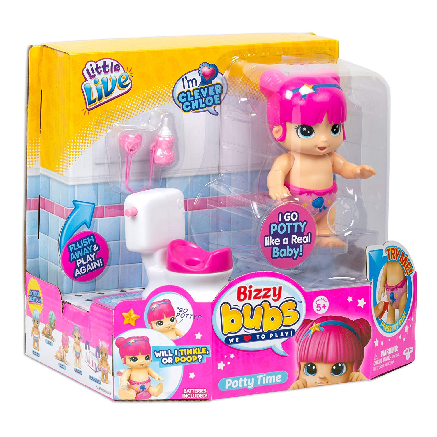 LITTLE LIVE BIZZY BUBS POTTY PLAYSET