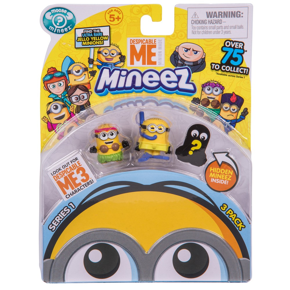 DESPICABLE ME CHARACTER PACK