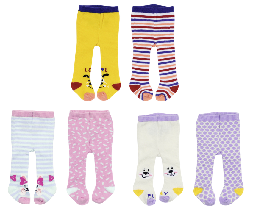 ZAPF BABY born Tights (2 pack) 43cm