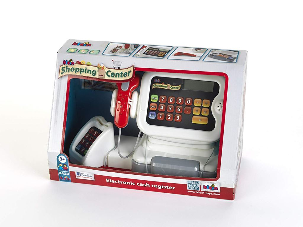 CASH REGISTER SET WITH ACCESSORIES