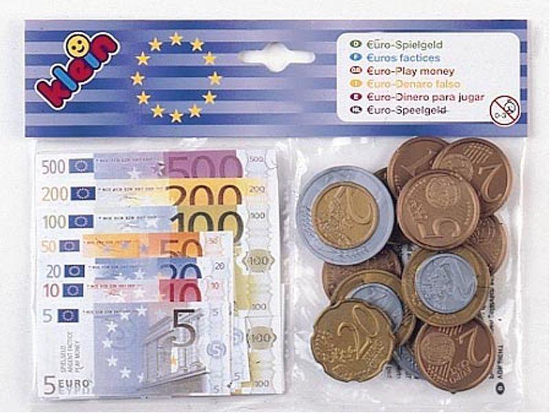 KLEIN Eurorahaa: kolikot ja setelit
