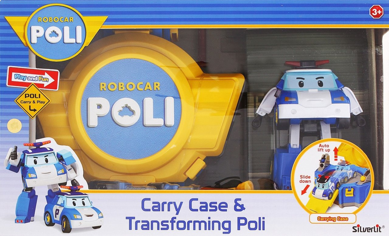 CARRY CASE AND TRANSFORMING POLI