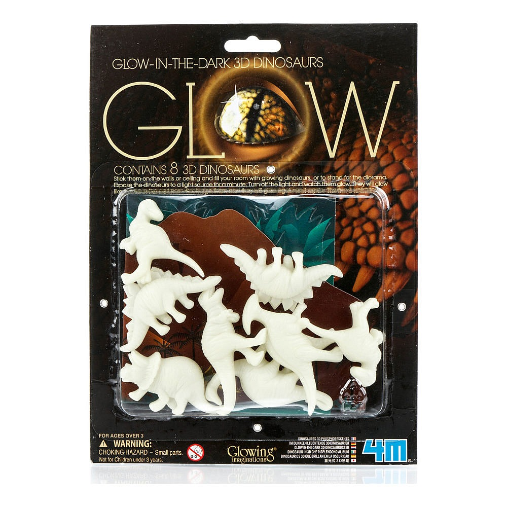 4M Glow-In-The-Dark Dinosaur