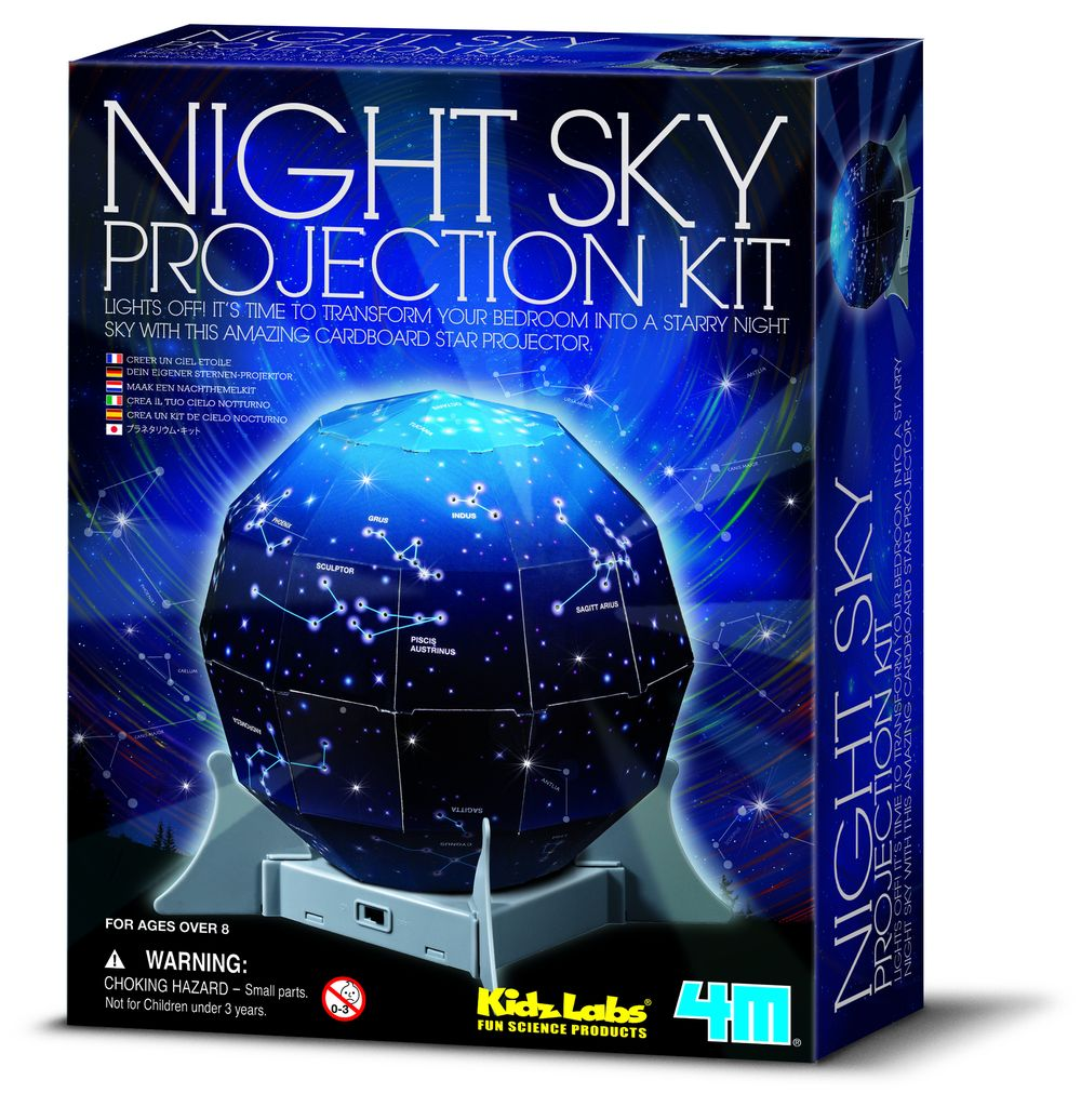 4M Kidz Labs: Night Sky Projection Kit
