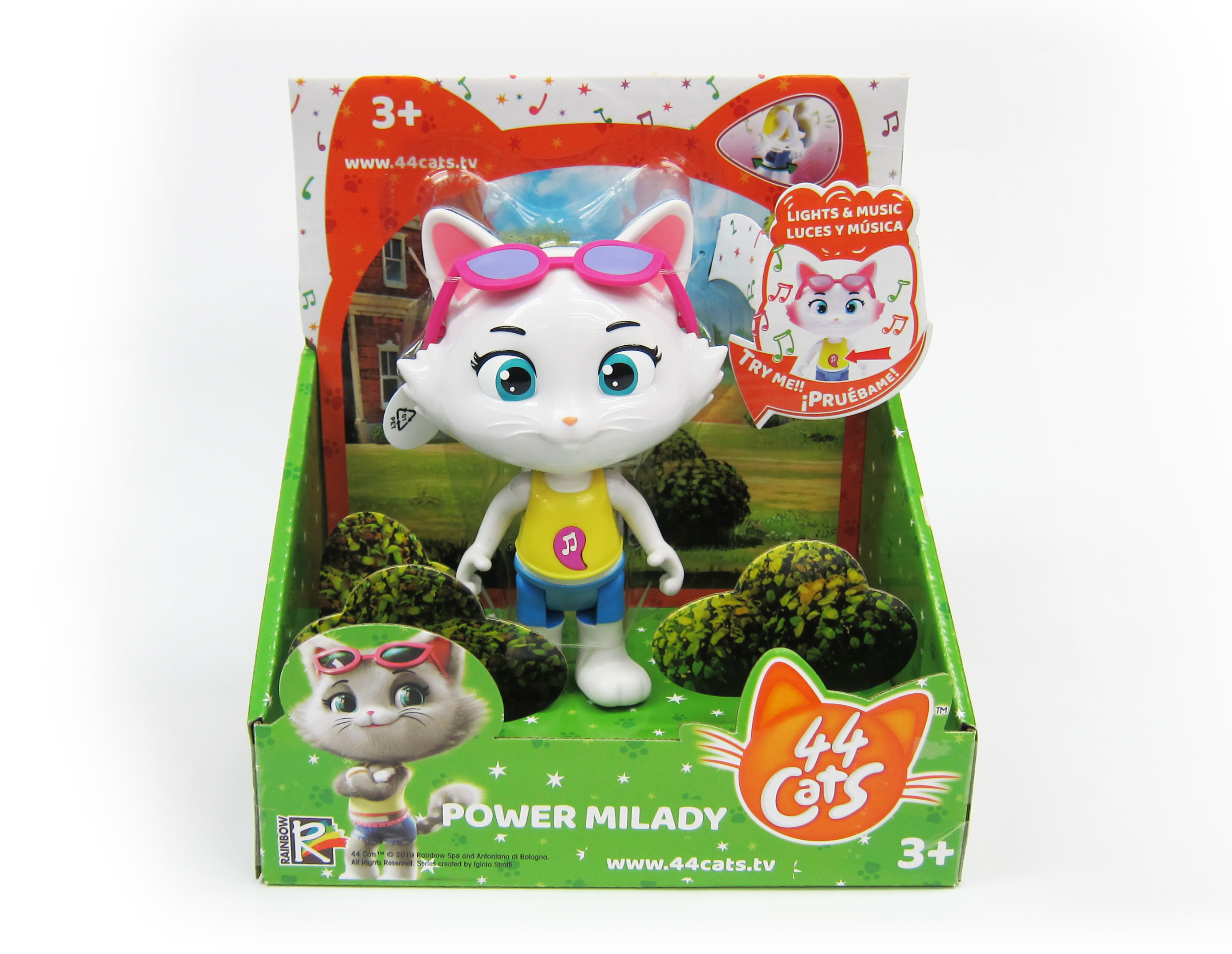 TOY PLUS 44 CATS 15 cm Figure With Sound