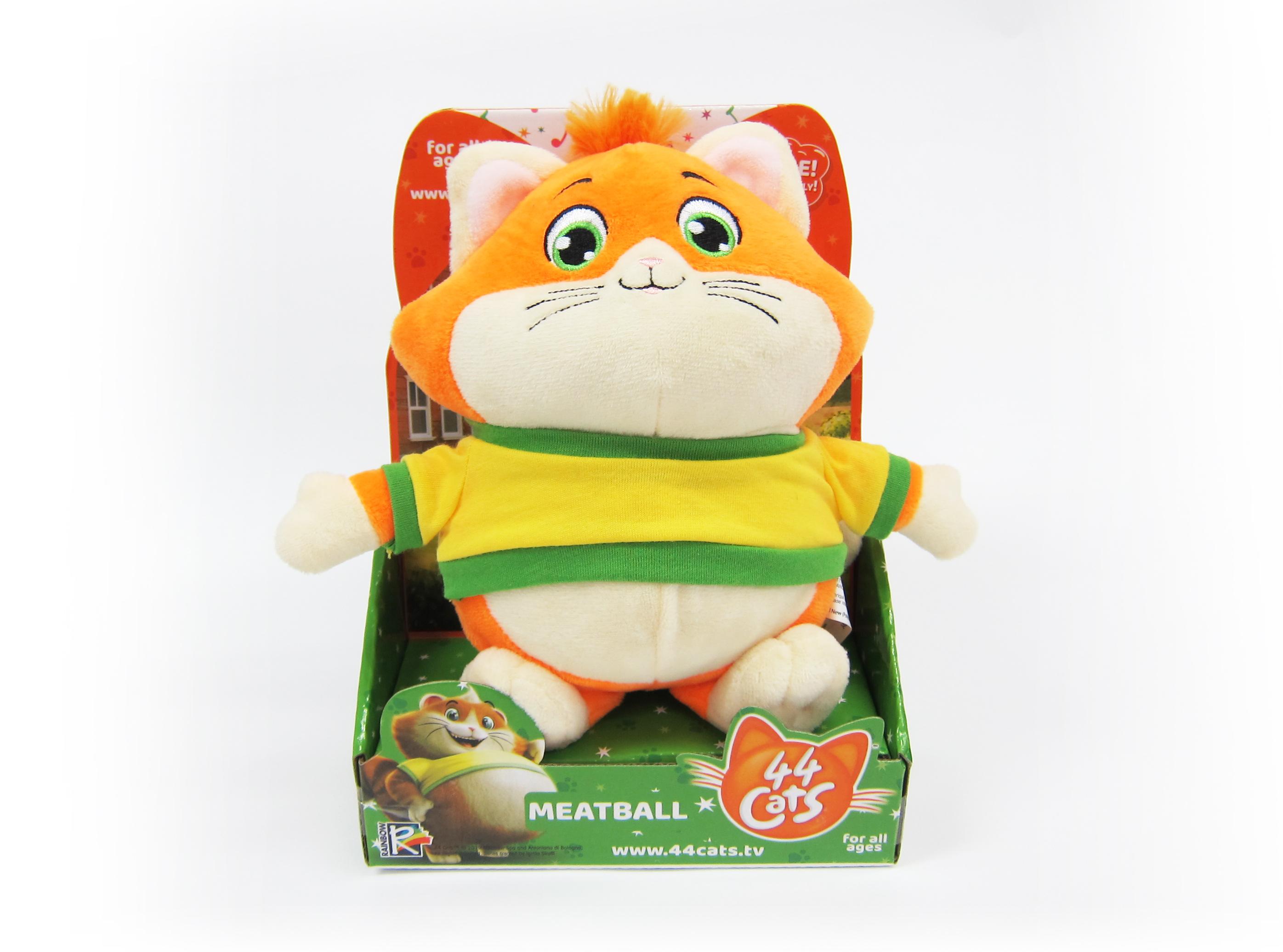 44 CATS Pehme mänguasi muusikaga, 20 cm