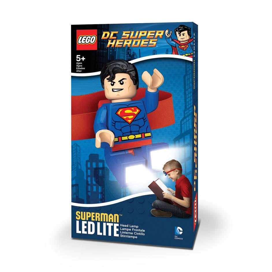 IQ LEGO DC Pealamp (Superman)
