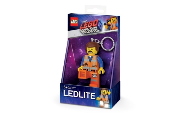 IQ LEGO THE LEGO MOVIE 2 LED-tuledega võtmehoidja (Emmett)