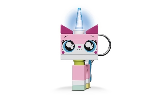 IQ LEGO THE LEGO MOVIE 2 LED-tuledega võtmehoidja (Unikitty)