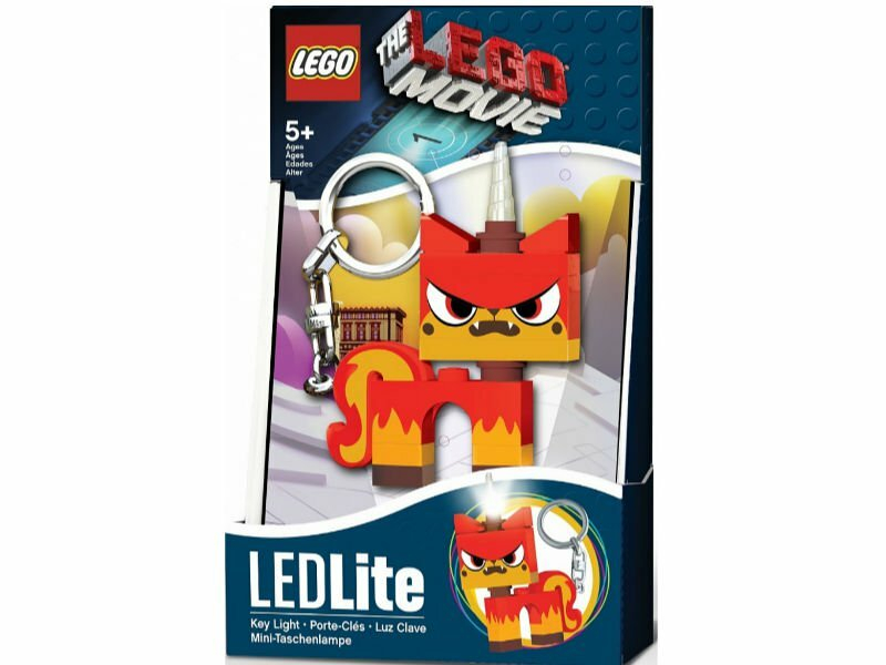IQ LEGO THE LEGO MOVIE 2 LED-atslēgu piekariņš (Angry Kitty)