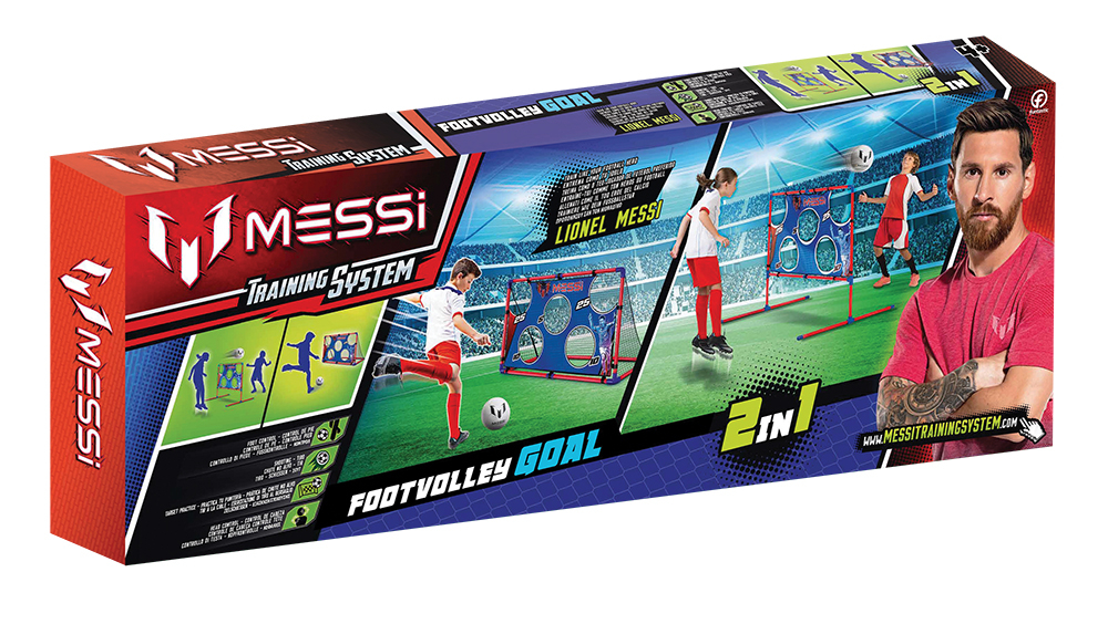 TIGERHEAD MESSI TRAINING SYSTEM Footvolley Goal