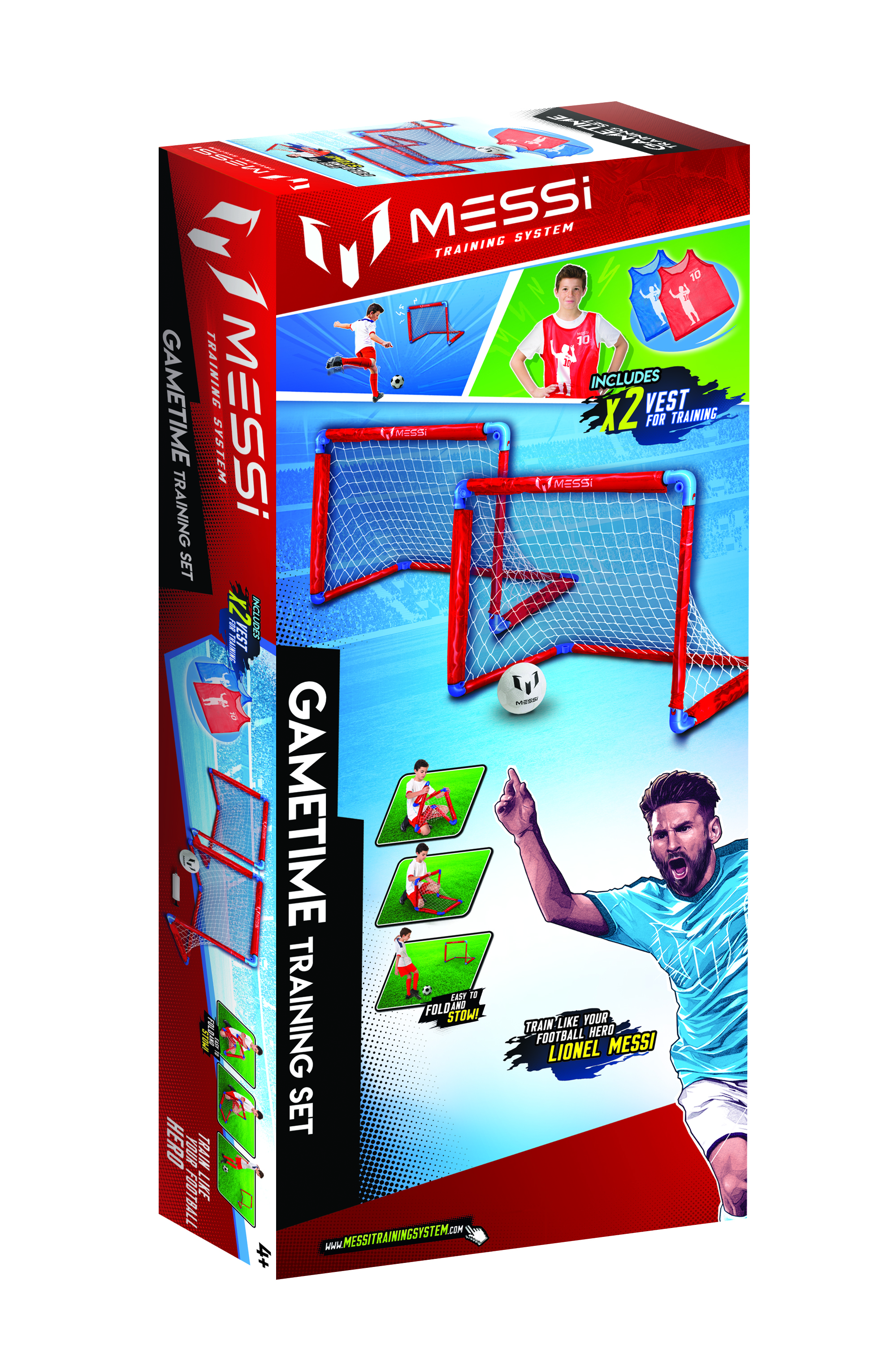 TIGERHEAD MESSI TRAINING SYSTEM Training Set With Two Goals