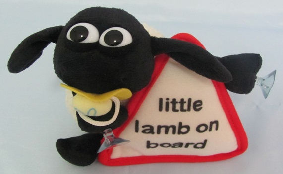 AARDMAN SHAUN THE SHEEP Timmy With Suction Cups 18 Cm