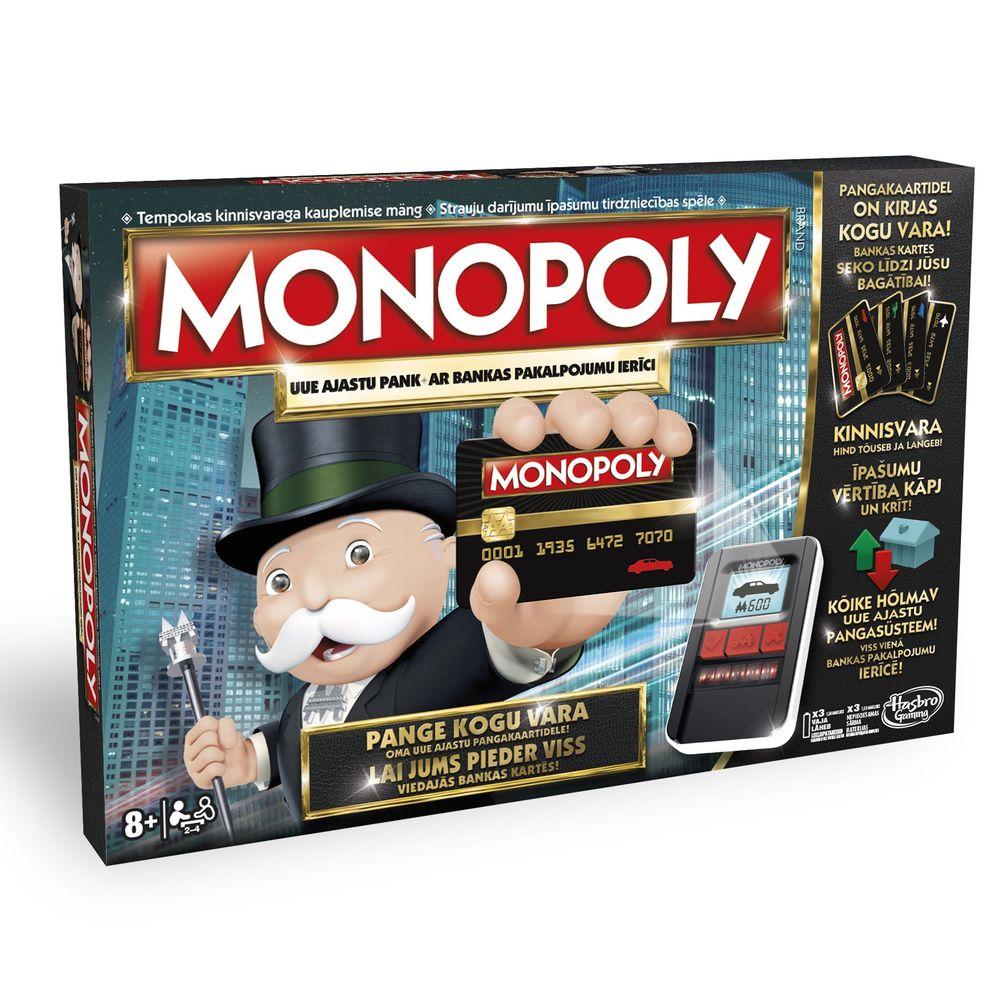 Hasbro Monopoly elektroonilise pangaga (EST/LAT)