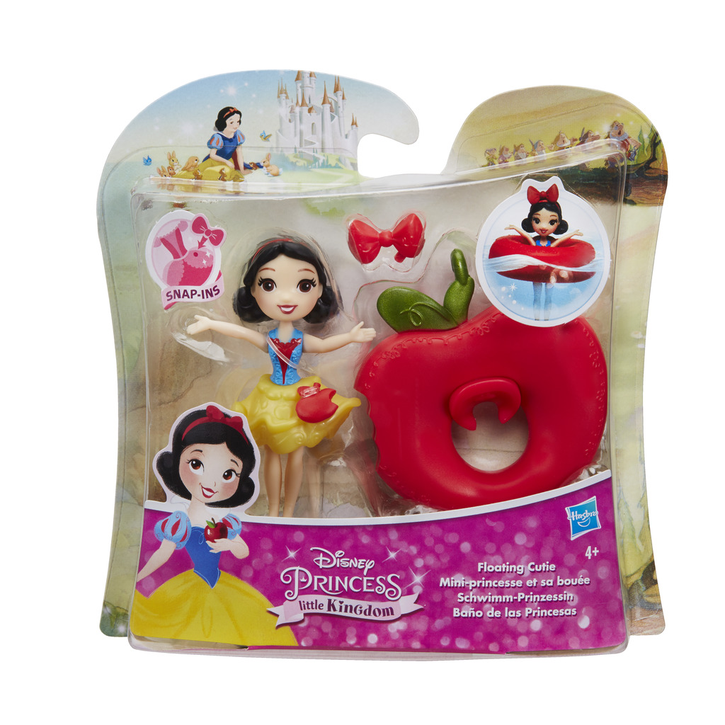HASBRO DISNEY PRINCESSES Small doll water play ast.