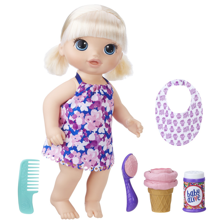 HASBRO BABY ALIVE Nukk Baby Blond