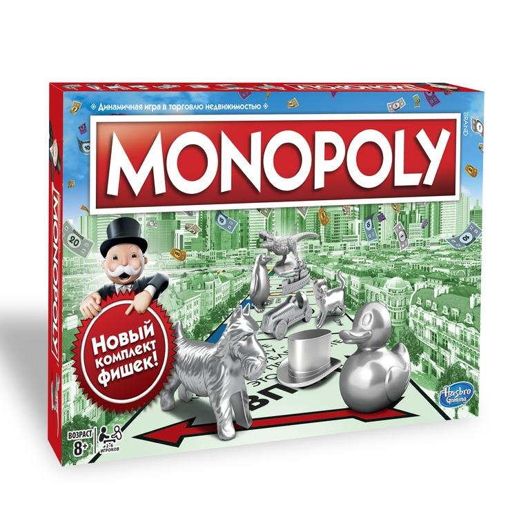 HASBRO Galda spēle Monopoly Classic (LAT)