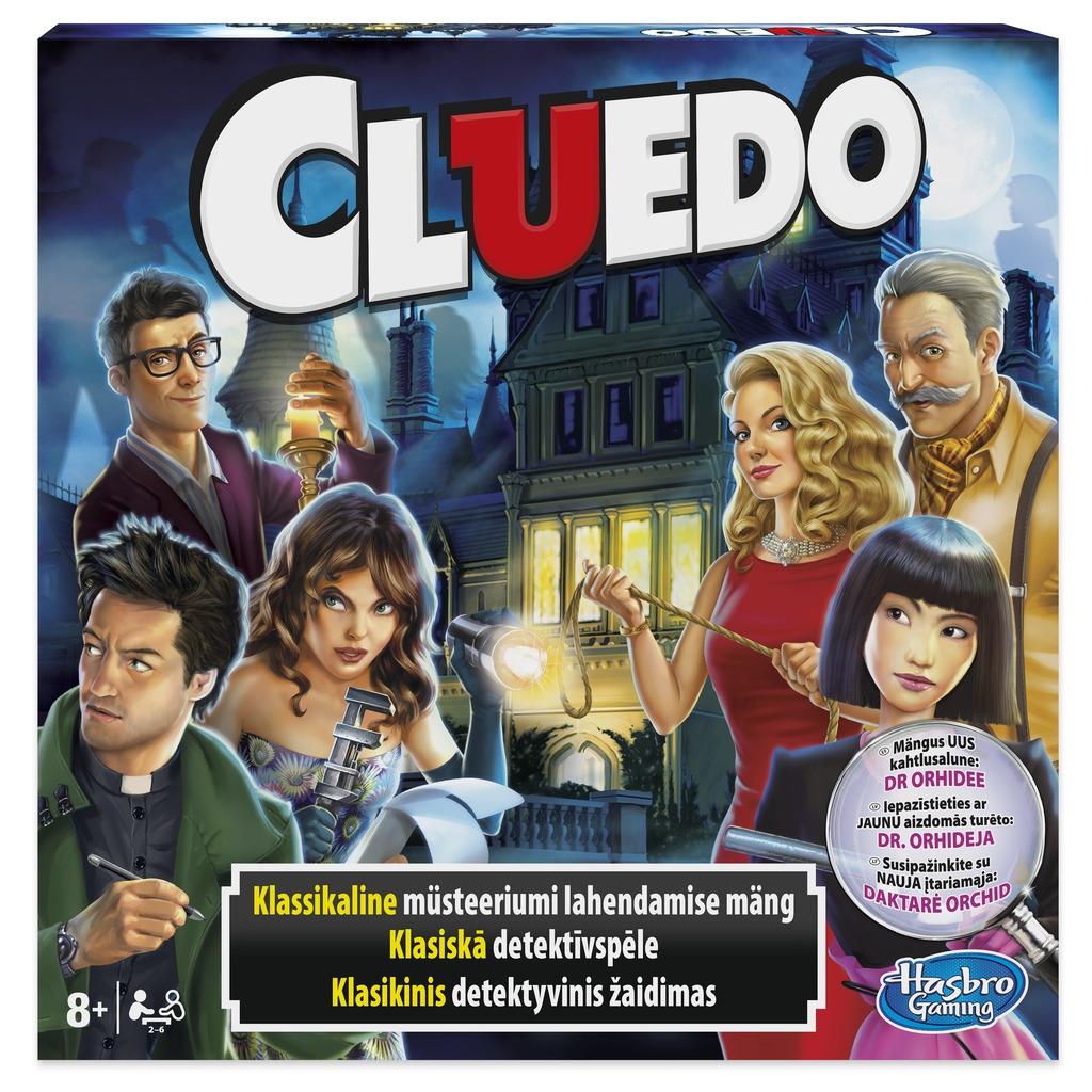 "HASBRO Lauamäng ""ClueDo"""
