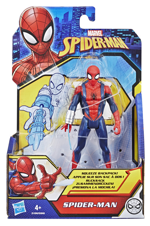 HASBRO SPIDER-MAN Quick shot figures, 6 inches ast