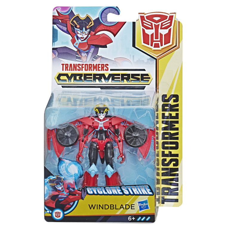 HASBRO TRANSFORMERS Cyberverse warrior ast