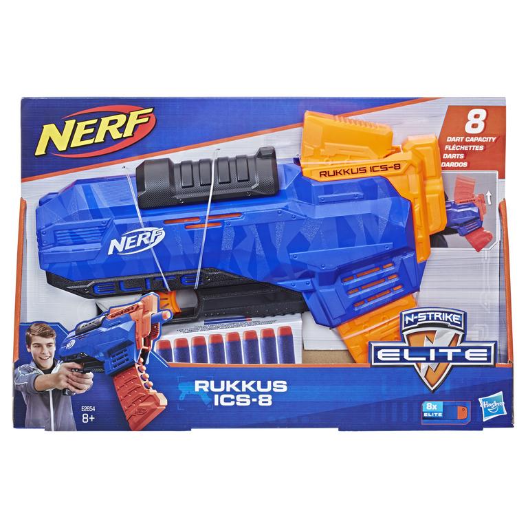 HASBRO NERF N-Strike Elite Rukkus ICS 8